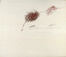 Cy Twombly, Achilles Mourning the Death of Patroclus (1962)